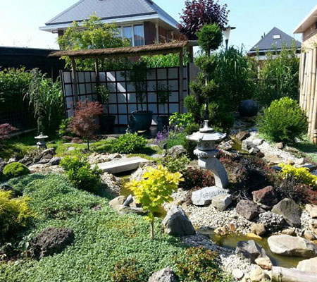 Japanse tuin Hoveniersbedrijf Aart Timmers jr