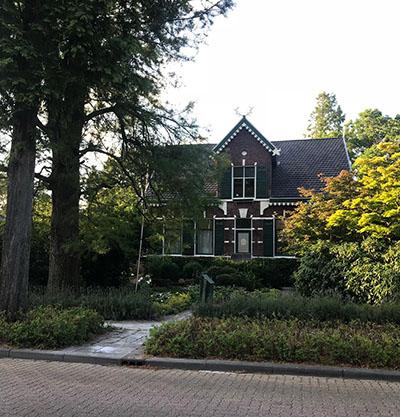 karakteristieke huis in Boskoop