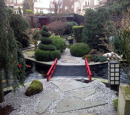 Japanse tuin Hoveniersbedrijf Aart Timmers